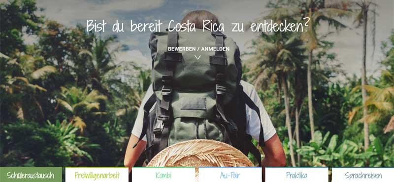 WELTBÜRGER Stipendien • Auslandsjahr • Stifter • Screenshot • CAS