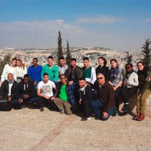 Schüler in Tel Aviv