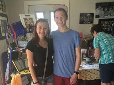 Nico mit Freundin