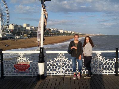 Bild vom Brighton Pier